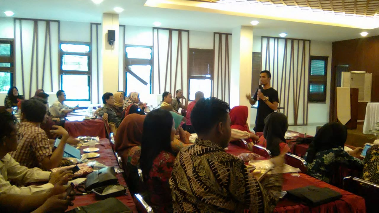 """Kopi Raja"" Jadi Pembicara Pada Workshop E-Smart Dinas Perindustrian Prov. Lampung"
