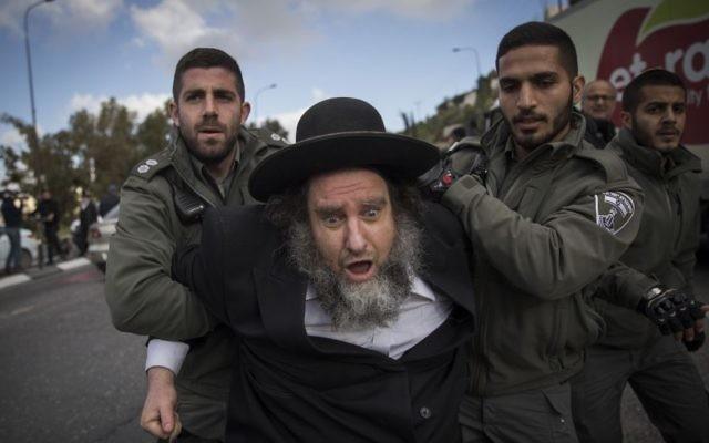 Polisi Israel Tangkap 33 Yahudi Ultra-Orthodoks