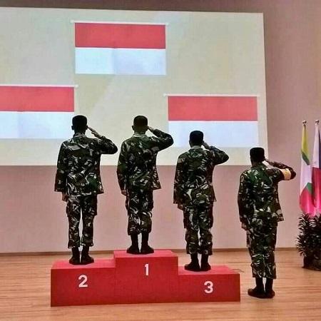 TNI AD Juara Umum Lomba Tembak di Singapura