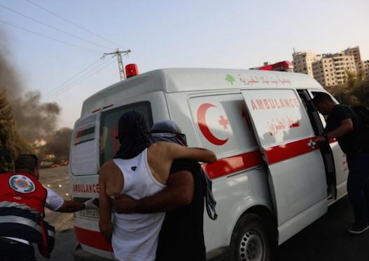 Tentara Israel Telantarkan Korban Penembakan
