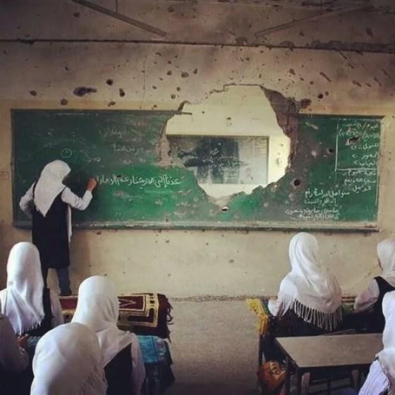 Israel Serang Sekolah Palestina di Bethlehem