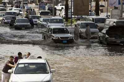 Banjir Landa Arab Saudi