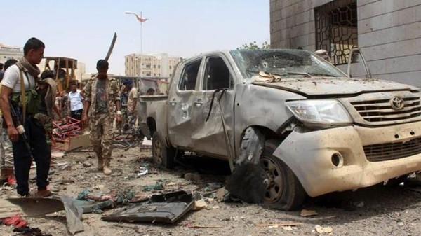 Bom Mobil Meledak di Kantor Kementerian Keuangan  Yaman