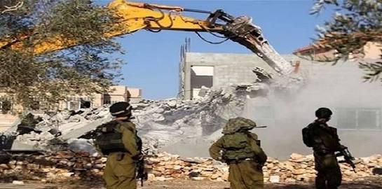 Israel Hancurkan Dua Rumah Warga Palestina di Yerusalem Timur