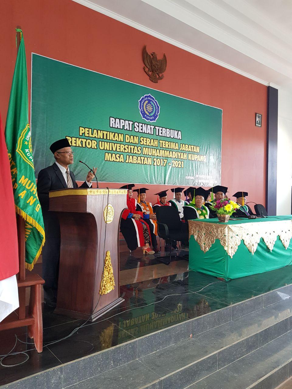 Haedar : Universitas Muhammadiyah Kupang Harus Membanggakan NTT