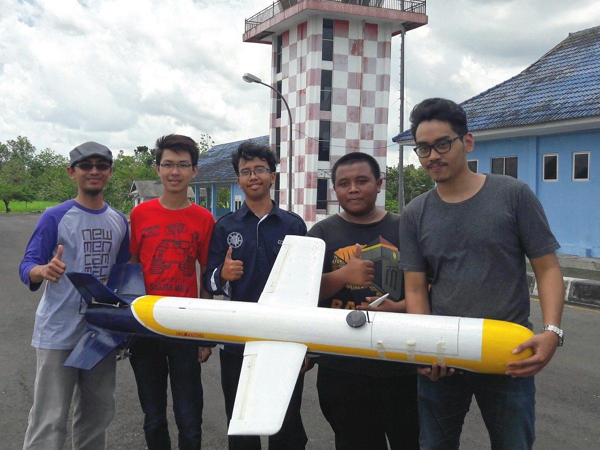 Rudal PASOPATI UGM Sukses Uji Terbang