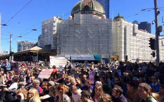 Warga Australia Protes Perlakuan Tidak Manusiawi Tangani Pengungsi