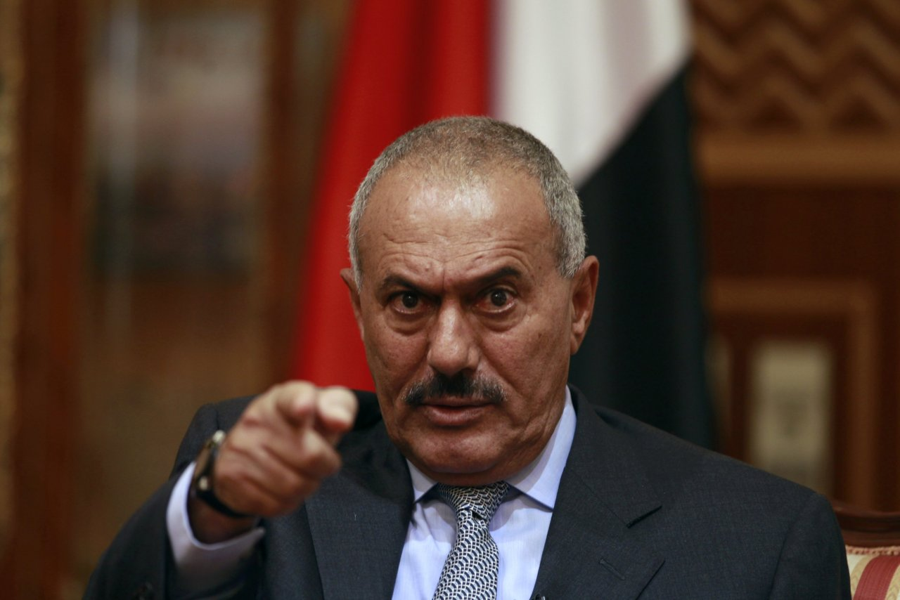ALI ABDULLAH SALEH /minanews.net