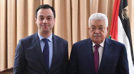 Abbas Bertemu Presiden Pemuda OKI Bahas Al-Quds