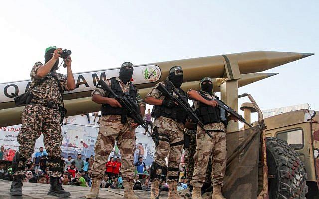 Roket Gaza Serang Kota Ashkelon Israel