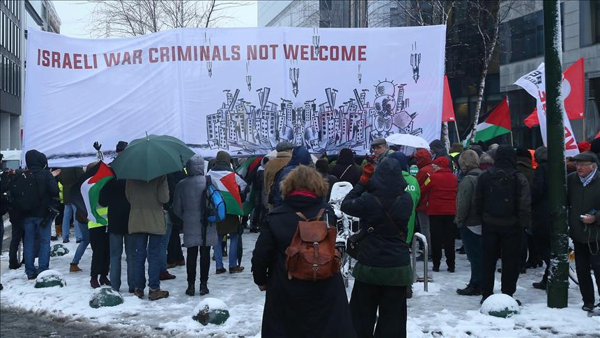 Netanyahu Disambut Protes di Brussels