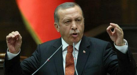 Erdogan Minta Dunia Lawan Ancaman AS Jelang Pemungutan Suara PBB