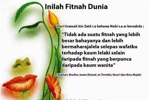 Agar Muslimah Terhindar dari Fitnah