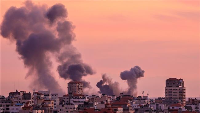 Tank dan Jet Tempur Israel Serang Jalur Gaza