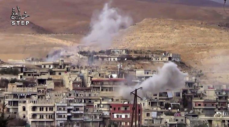Jet Suriah-Rusia Serang Aleppo dan Desa di Damaskus