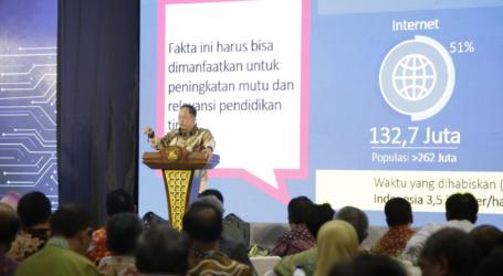 Menristekdikti Ajak Rektor Perbaiki Kurikulum 2018