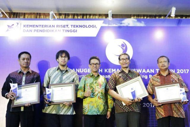 Kemenristekdikti Gelar Anugerah Kemahasiswaan Tahun 2017