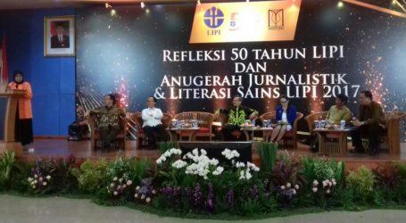 LIPI Beri Anugerah Jurnalistik dan Literasi Sains