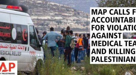 Israel Serang Tim Medis di Palestina