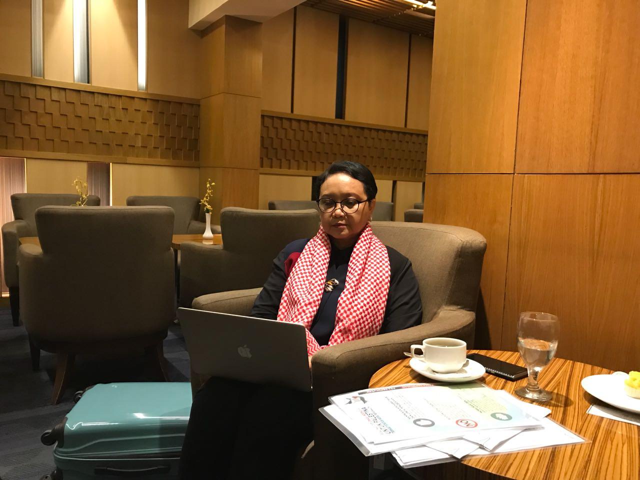 Menlu Retno: Palestina Prioritas Utama Diplomasi Indonesia