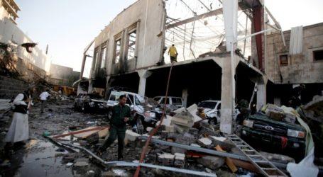 Serangan Udara Koalisi Arab Hantam Pasar Taiz, 23 Orang Tewas
