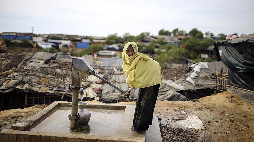 Inggris Siapkan Tambahan 70 Juta Pound Sterling untuk Pengungsi Rohingya