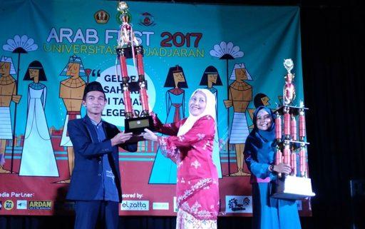 UII Juara Umum Festival Bahasa Arab Nasional