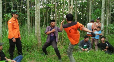 Pemuda Jama'ah Muslimin Bandung Latihan SAR, Beladiri dan Panahan