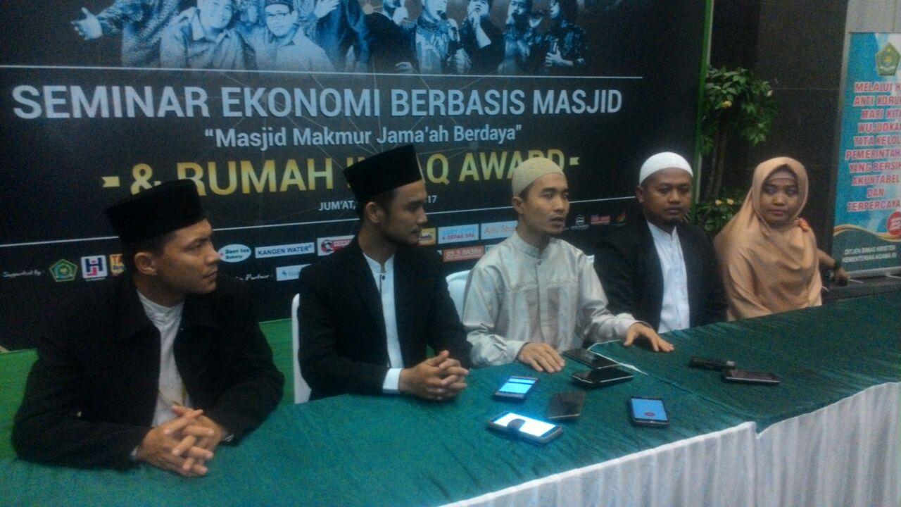 Rumah Infaq Gelar Seminar Ekonomi Berbasis Masjid