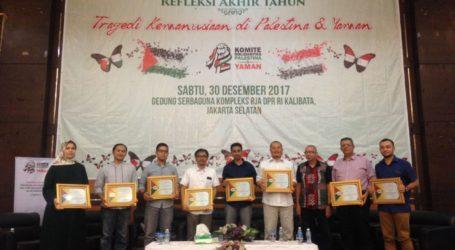 Diskusi Palestina dan Yaman di Jakarta Dukung Boikot Produk Israel