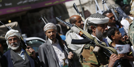 Houthi Bertemu Anggota Partai Saleh