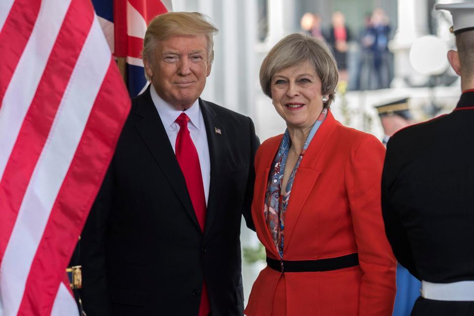 PM Inggris Tidak Setuju Trump