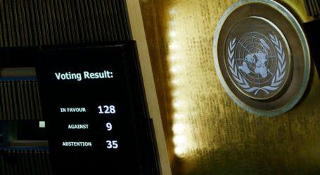 Resolusi PBB: 128 Negara Tolak Keputusan AS Mengenai Yerusalem