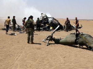 Gerilyawan Oposisi Tembak Jatuh Helikopter Suriah