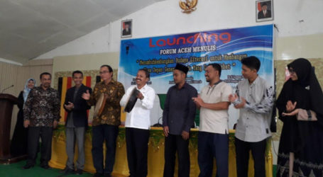 Akademisi Aceh Bentuk Forum Aceh Menulis