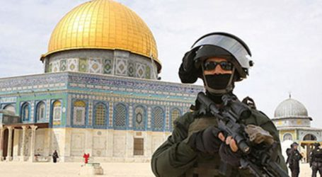 Israel Cegah Pekerja Palestina di Kompleks Aqsha