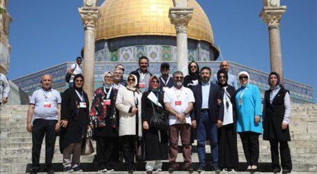 Menteri Palestina Puji Meningkatnya Kunjungan Warga Turki ke Al-Aqsha