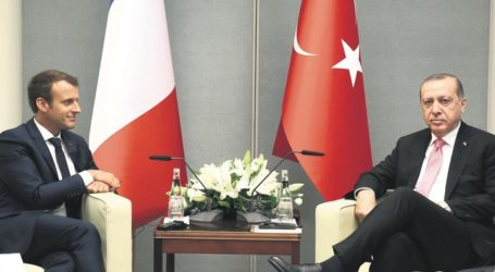 Erdogan Kunjungi Perancis Tingkatkan Kerjasama Bilateral