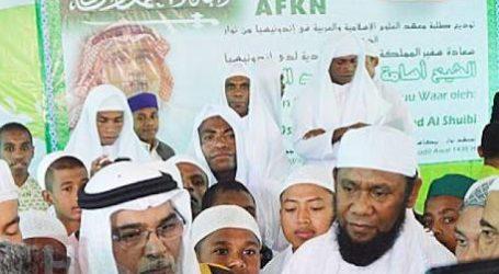 Dubes Saudi Resmikan Pembangunan Masjid Bagi Santri Papua