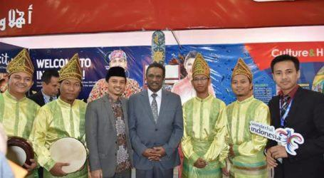 PM Sudan Kunjungi Stand Indonesia di IFK