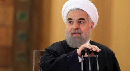 Rouhani Bersumpah Tidak Akan Menyerah Meski Diserang