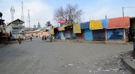 Warga Kashmir Mogok Protes Pembunuhan Dua Pemuda