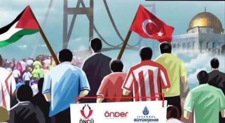 Lari Bersama 10.000 Orang di Istanbul Untuk Al-Quds