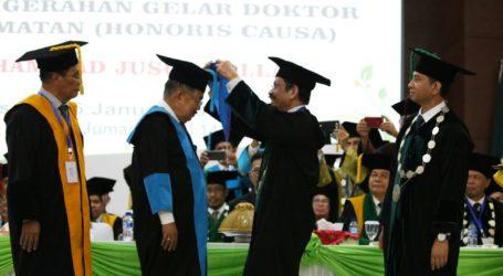 UIN Alauddin Anugerahi Doktor Kehormatan kepada JK