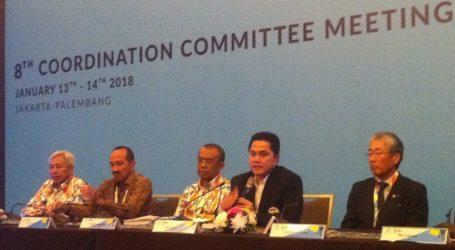 Rakor Dewan Olimpiade Asia Bahas Program Asian Games 2018
