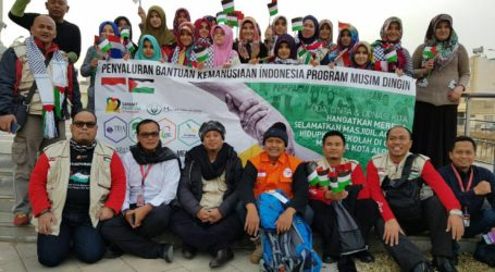 Sahabat Palestina Sampaikan Bantuan Kemanusiaan Pada Pengungsi Palestina