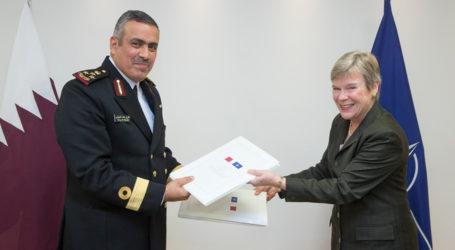 Qatar-NATO Kerja Sama  Pertukaran Informasi