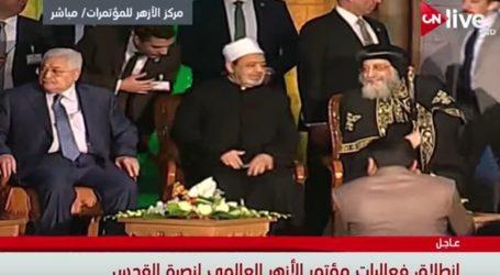 "Al-Azhar Serukan Deklarasi 2018 ""Tahun Bela Al-Quds"""