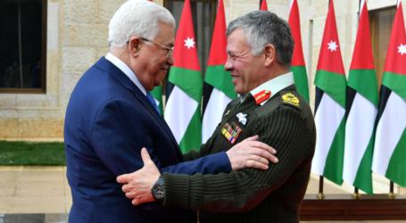 Abbas, Abdullah Bahas Dampak Keputusan AS atas Yerusalem