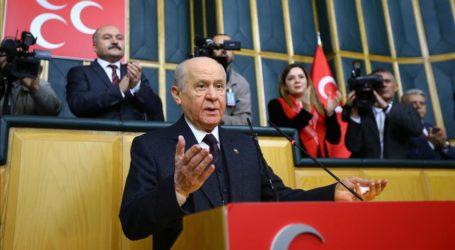 Partai Gerakan Nasional MHP Dukung Erdogan dalam Pilpres 2019